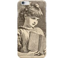 Five Mice in a Mouse Trap Laura Elisabeth Howe Richards and Kate Greenaway 1881 0143 Fluff iPhone Case/Skin