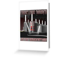 Forget Free Thought - AHS Propaganda Greeting Card