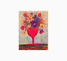 Flowers in Red Vase Unisex T-Shirt