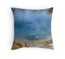 Excelsior Hot Springs Throw Pillow