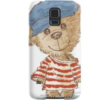 Teddy bear and clothes Samsung Galaxy Case/Skin