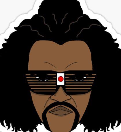 Sho Nuff the shogun of Harlem! Sticker