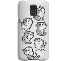 Six Impudent cats Samsung Galaxy Case/Skin