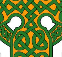 Celtic knotwork cross Sticker