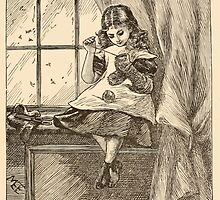 Five Mice in a Mouse Trap Laura Elisabeth Howe Richards and Kate Greenaway 1881 0145 Fluff Sewing by wetdryvac