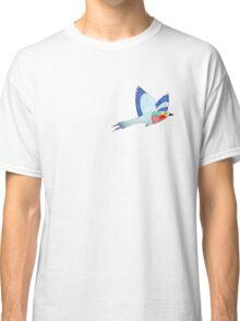 Watercolour flying bird  Classic T-Shirt