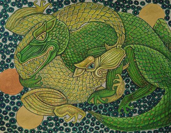 Adversaries III by Lynnette Shelley