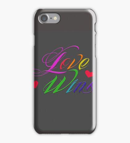 Love Wins iPhone Case/Skin