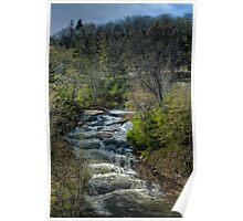Millstone River Falls - Nanaimo BC Poster