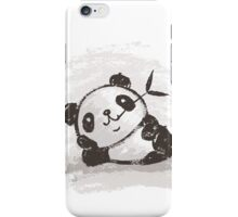 Panda that is relaxing iPhone Case/Skin