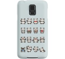 Various feeling of Panda Samsung Galaxy Case/Skin