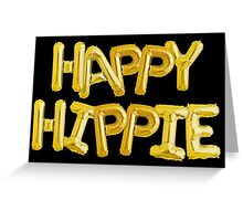 Happy Hippie Foundation [Balloons] Greeting Card