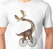 Brachiosaurus Brachiolope on Velocipede Unisex T-Shirt