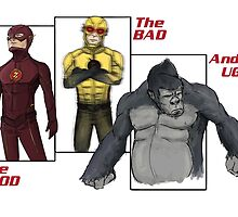 The Flash-Good, Bad, Ugly by xxCPaulxx