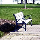 Park Bench by sternbergimages