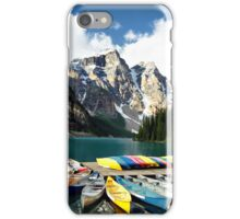 Moraine Lake, Banff NP iPhone Case/Skin