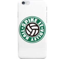 Spike_It_Volleyball iPhone Case/Skin