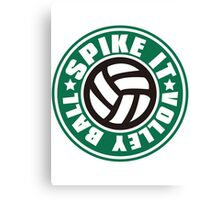Spike_It_Volleyball Canvas Print