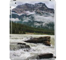 Athabasca Falls, Jasper NP iPad Case/Skin