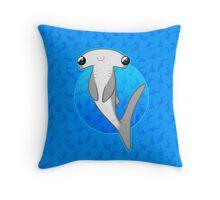 Happy Hammerhead Throw Pillow
