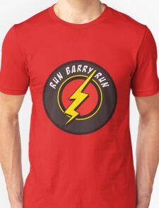 RUN BARRY RUN Unisex T-Shirt