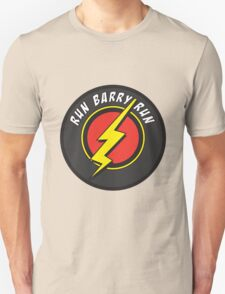 RUN BARRY RUN Unisex T-Shirt