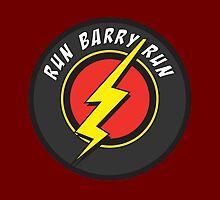 RUN BARRY RUN by LucyHollyhock