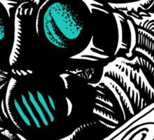 Thrasher // Skate the Future // blue Sticker