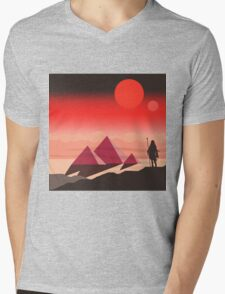 The Traveller Mens V-Neck T-Shirt