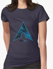Arch Linux Womens Fitted T-Shirt