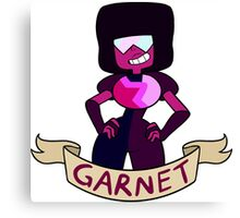 Garnet Ribbon Canvas Print