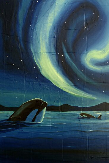 Whale Watching by Sarah  Mac