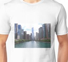 View of Trump tower Chicago Unisex T-Shirt