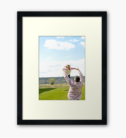 Flying! Framed Print