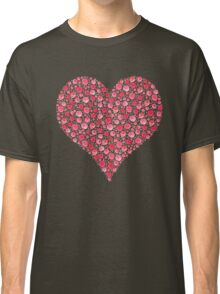 Red Rose Heart Hoodie Classic T-Shirt