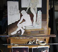 (unfinished) Pygmalion and Galatea by Ken Tregoning by Ken Tregoning