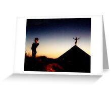Pyramid Topanga Far East Meets Far West US Greeting Card