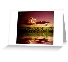 A dusky serenade Greeting Card