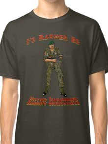 I'd Rather Be Killing Communists, Reagan Style Classic T-Shirt