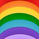 Colours Of The Rainbow Pattern by biglnet