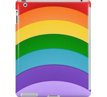 Colours Of The Rainbow Pattern iPad Case/Skin