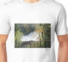 Yorkshire Dales Waterfall Unisex T-Shirt