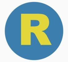 Running Man R logo T-Shirt