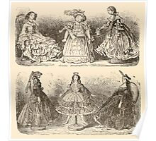 Five Mice in a Mouse Trap Laura Elisabeth Howe Richards and Kate Greenaway 1881 0052 Six Dolls Poster
