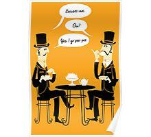 Oui Oui Tea Time Poster