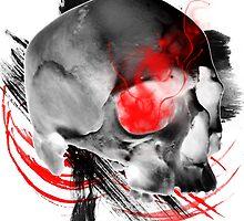 Inverted Skull Trash Polka by Roger Price