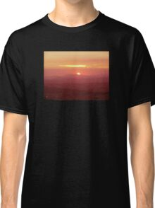 Sunset from Tamborine Mountain #1 Classic T-Shirt