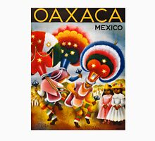 Oaxaca Mexico Vintage Travel Poster Restored T-Shirt