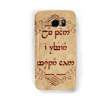 Not All Who Wander Are Lost in Elvish Samsung Galaxy Case/Skin