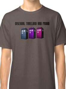 Bisexual Timelord and Proud Classic T-Shirt
